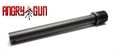 ANGRY GUN Aluminum Outer Barrel For TM FN57 (Black)
