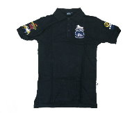 Colt Seal Polo Shirt - Black