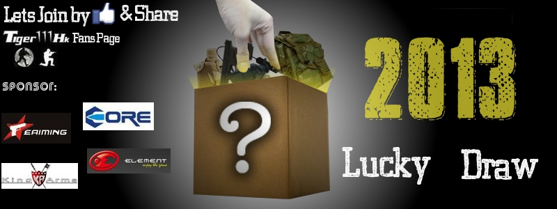 Tiger111hk 2013 Lucky Draw