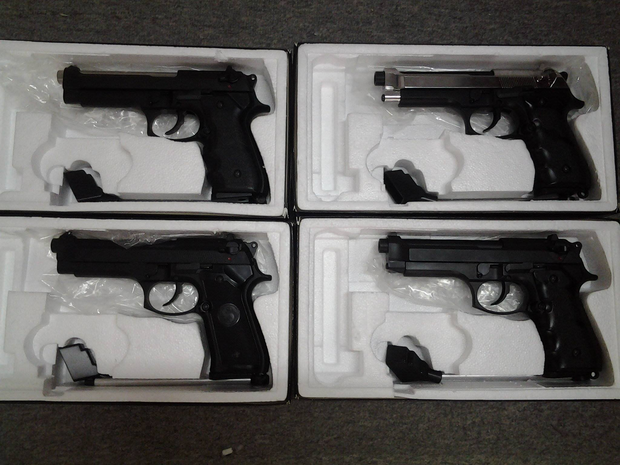 Weekend Promo KSC;New Arrival WE Metal M5K SMG GBB;LS GBB Pistol LS-GBB%204