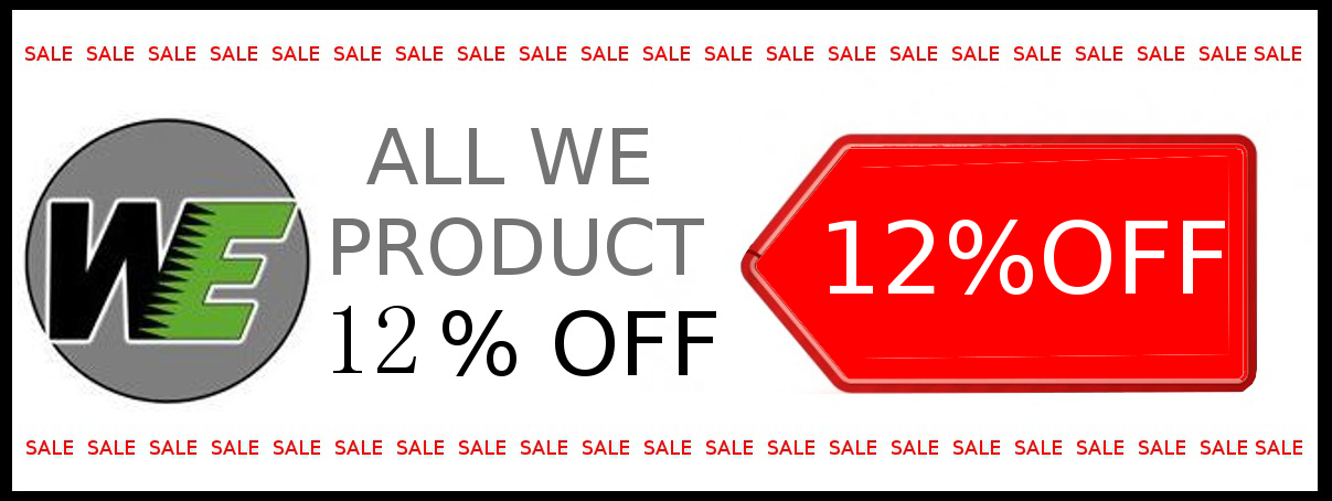 WE 12%OFF SALE