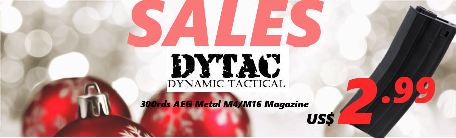 SALES~US$2.99 DYTAC M4/16 300Rds magazine;CYMA Benelli M3 Shotgun and AEP series  DY-MAG-03_SALES-USD3