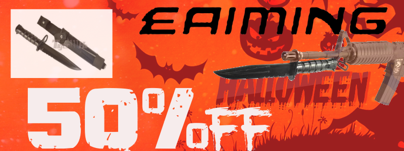 Halloween Sales 50%off ! EAIMING Dummy Knife