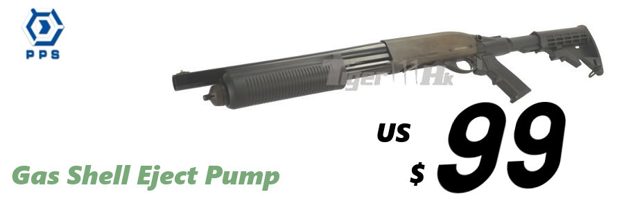 US$99-GAS Shell eject Pump PPS M870 Shotgun Pps-m870-st-05-en