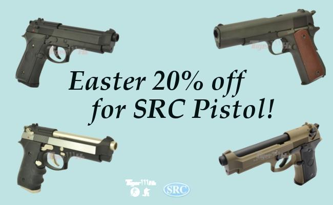 20%off SRC Pistol in Easter;Target Deals Start;X3300W takePre-order;UMAREX HK417 Src_2