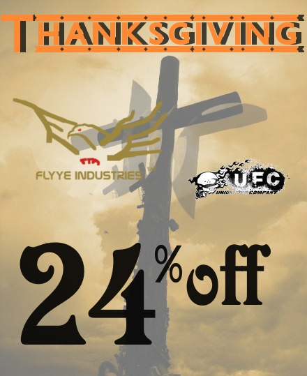 1124 Thanksgiving Flyye and UFC 24% Promo