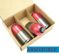 Army Force Metal 85mm Paintball Gas Cartridge for M203 (3-pcs)