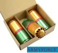 Army Force Metal 96rds 105mm Gas Cartridge for M203 (3-pcs)