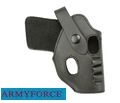 Army Force Leather RH Pistol Belt Holster for Walther PPK