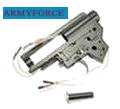 Army Force 8mm Bearing Alloy Gearbox Case Set for A&K Ver.II