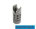 Army Force Metal Strike Flash Hider ( 14mm - )