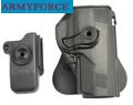 Army Force IMI Style Belt Holster For PX4 w/Mag Pouch-Black