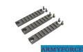 Army Force Metal G36 Hand Guard Mount Rail 3pcs Set