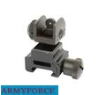 Army Force Metal  Flip Up Rear Sight for 20mm RIS