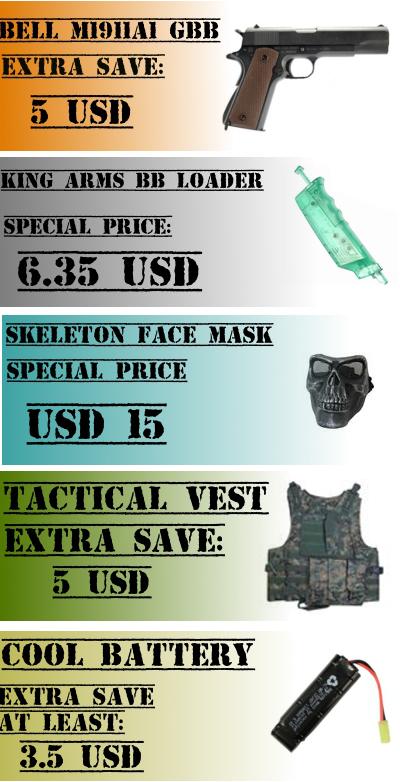 Tiger111Hk Madness Sale; WE M4 CQRB AEG; SWAT New Items 12354