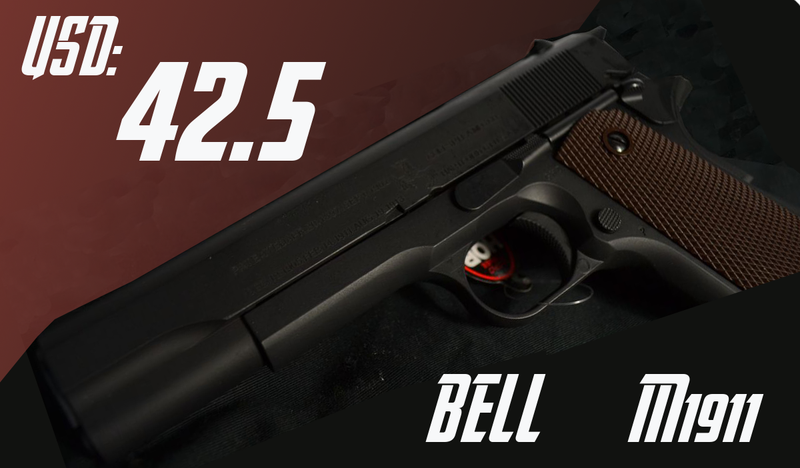 Bell M1911A1 Selling USD 42.5