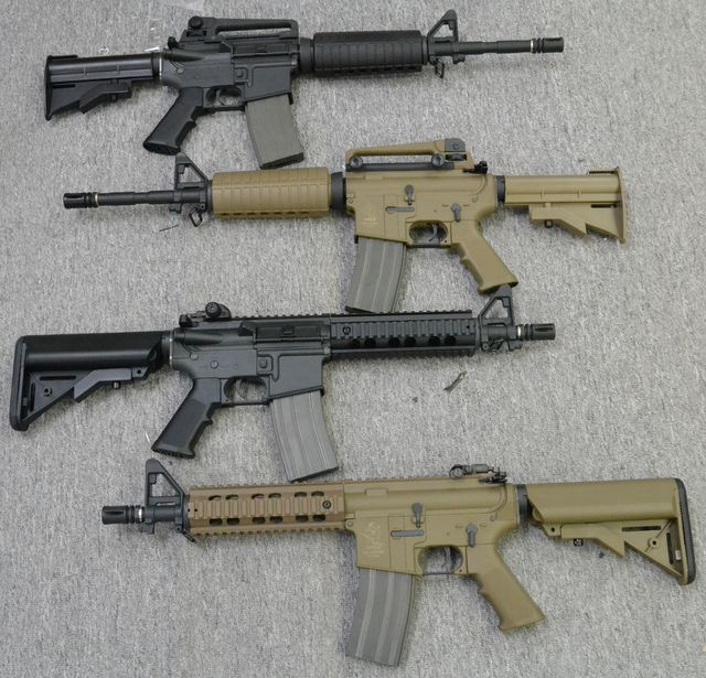Ares S-Class M4A1 Carbine / M4 CQB Assault Rifle AEG