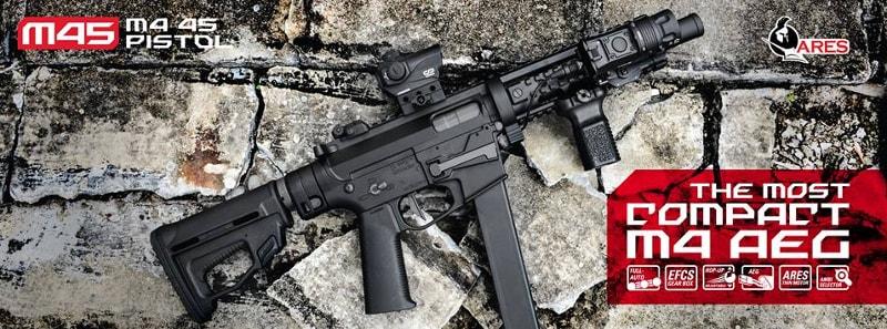 ARES M4 M45 Pistol X Class ARES-M4-M45-pistol