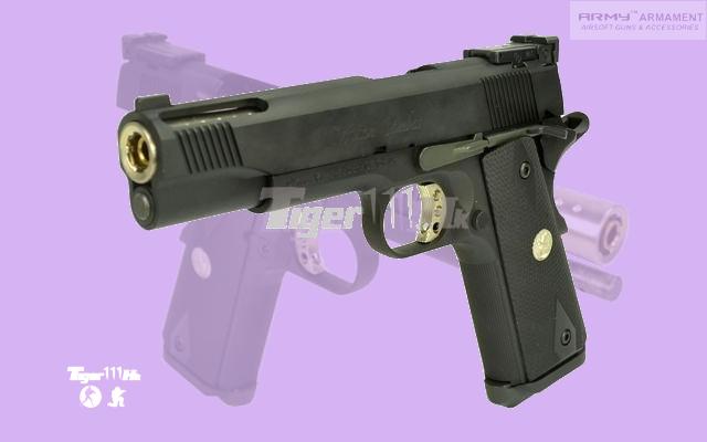Army M1911A1 V12 Psitol; KSC G34 GBB Pistol; XCORTECH BB Shotting Chronoscope  ARM-GBB-R30-BK