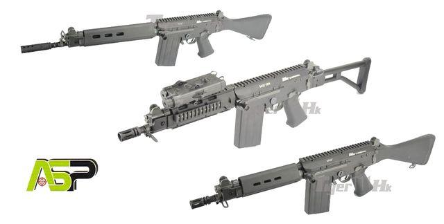 PTS(KWA) Masada Gen 3 ; WE P38 GBB ; WE MAKAROV GBB ; ASP SA58 AEG Rifle ASP%20SA58