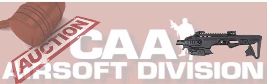 CAA Airsoft Division RONI B M9 Pistol Carbine Conversion (BK) biding