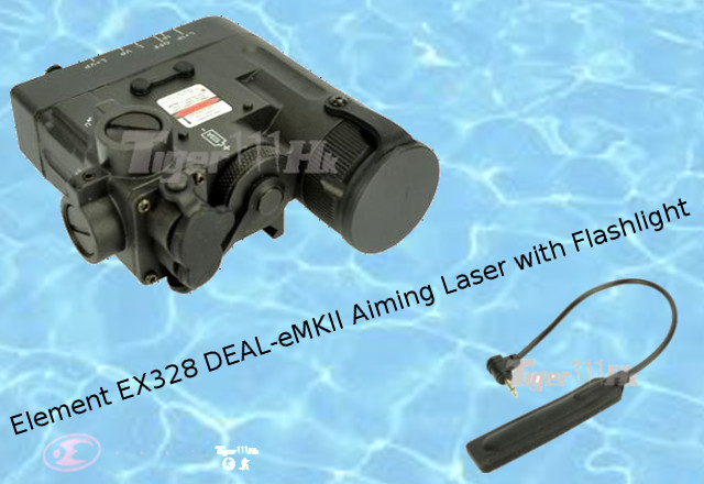 Element EX328 DBAL-eMKII Aiming Laser with Flashlight - Black