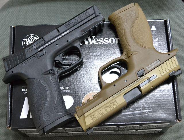 Cybergun Metal Slide S&W M&P9 GBB & WE KELTEC PLR-16L & UMAREX H&K HK416D AEG  CY-GBB-SW-M&P9-