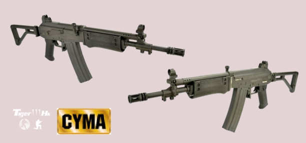 CYMA Galil SAR ;PPS Kar-98K Rifle;A&K CA870 Air-cocking Shotgun CYMA-CM043B