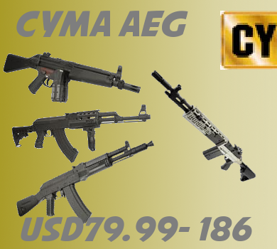 Fifth Stage Cameback:CYMA AEG+BB Loader+SEIKO (BELL) AEG CYMABANCK-Left