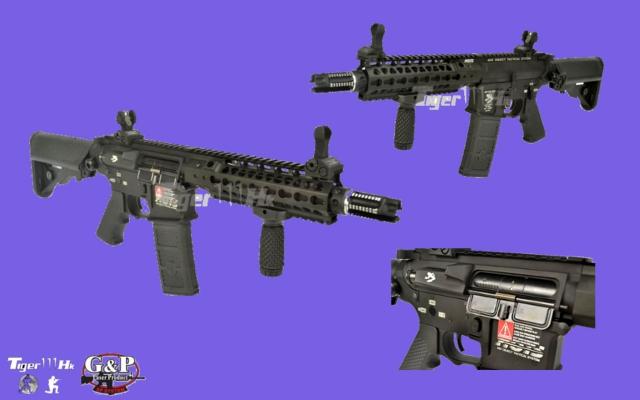 G&P M4 CQBR;S&T Beretta ARX-160;APS Pistol (ACP)CO2 Match Ver GP-AEG066-BK