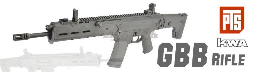 PTS(KWA) Masada Gen 3 ; WE P38 GBB ; WE MAKAROV GBB ; ASP SA58 AEG Rifle PTS-GBB-Masada-en