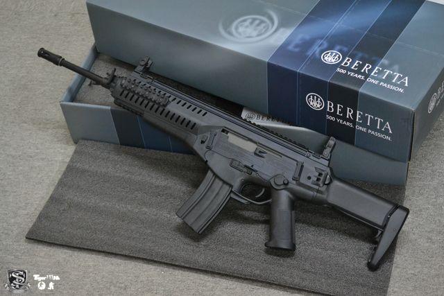 G&P M4 CQBR;S&T Beretta ARX-160;APS Pistol (ACP)CO2 Match Ver ST-AEG-15-BK-1