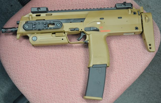 UMAREX X VFC H&K Licensed MP7A1 SMG GBB (Tan)