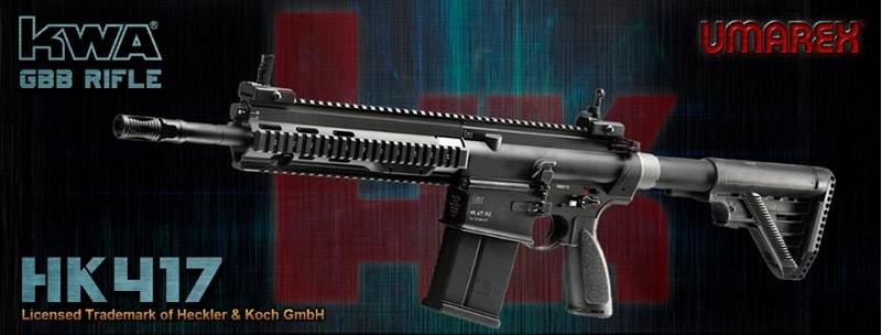 UMAREX x KWA HK417 is available UMAREX-KWA-HK417