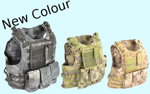 Marine Special Force Full MOLLE System Vest - Kryptenk Mandrake/Kryptenk Typhon/Kryptenk Highlander