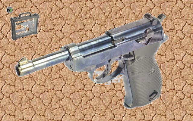 PTS(KWA) Masada Gen 3 ; WE P38 GBB ; WE MAKAROV GBB ; ASP SA58 AEG Rifle WE-GBB-P38-L-BOX-BK