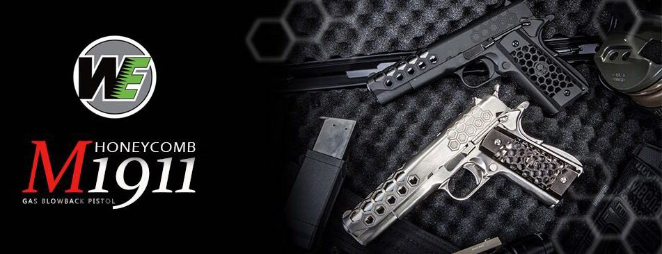 WE Hex Cut Signature  1911 GBB