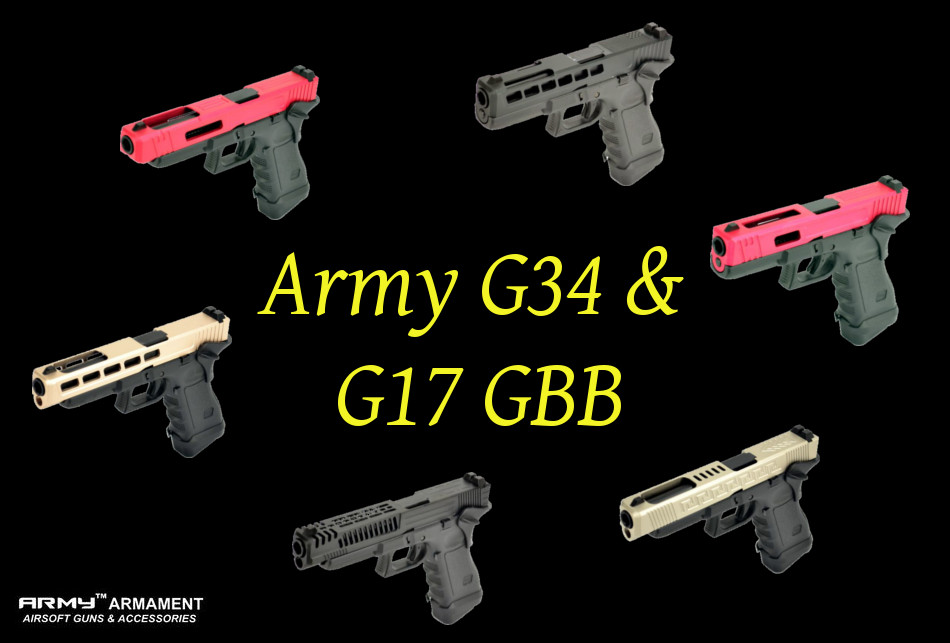 Army G17 and G34 GBB