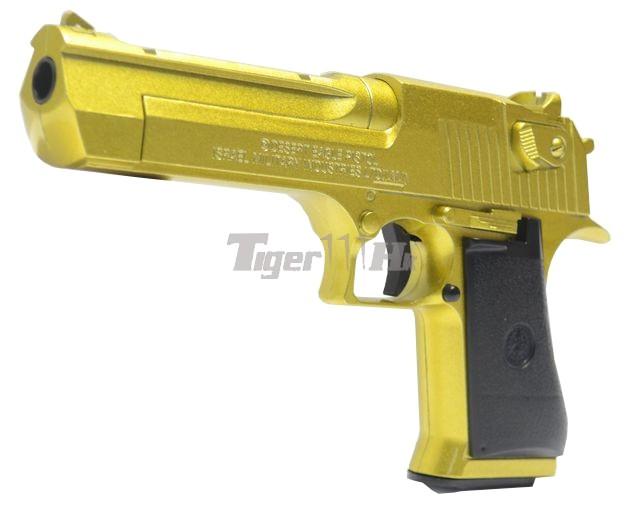 Golden Eagle Desert Eagle  50AE KG6 Metal Spring Pistol  Gold   GOL    Golden Desert Eagle