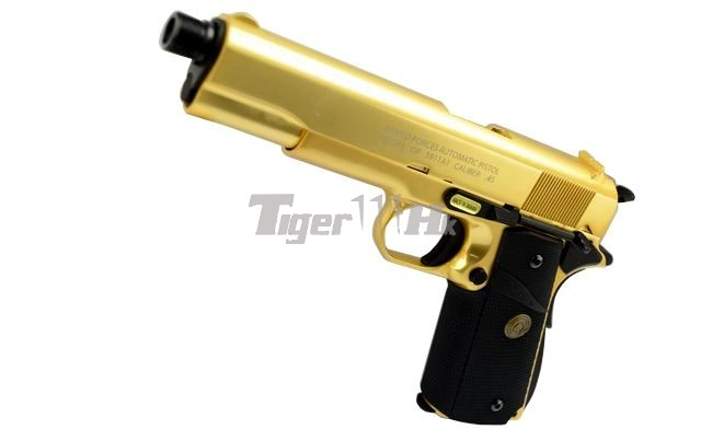 Tokyo Marui M9A1 Pistol;Socom Gear Pro Training 1911 Pistol;Socom Gear 24k 911 Pistol SOCOM-GBB-GOLD1911-1