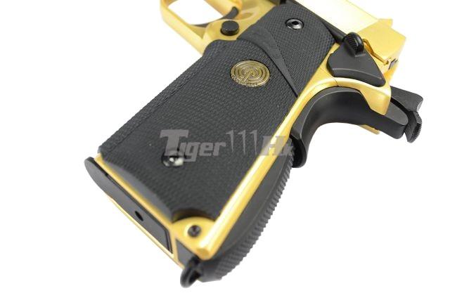 Tokyo Marui M9A1 Pistol;Socom Gear Pro Training 1911 Pistol;Socom Gear 24k 911 Pistol SOCOM-GBB-GOLD1911-13