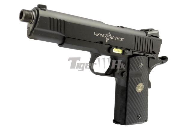 Tokyo Marui M9A1 Pistol;Socom Gear Pro Training 1911 Pistol;Socom Gear 24k 911 Pistol SOCOM-GBB-VTAC1911-1