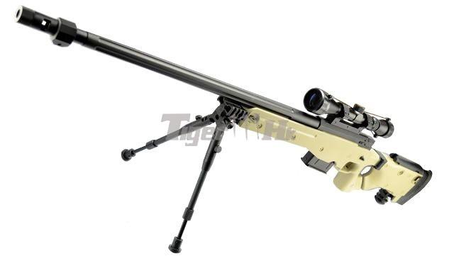 RAV Assault Vest Event;WELL L96 AWF Gun;MADBULL ACE Skeleton Stock (Black) WELL-GBB-G96D-TAN-1