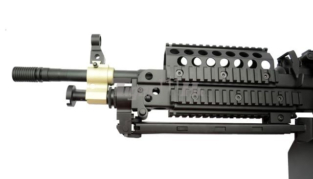 A&K MK46;WELL L96AWS Bolt Action Sniper Rifle;S&T Tavor TAR-21 Explorer Bullpup AEG A&K-AEG-MK46-RS-8