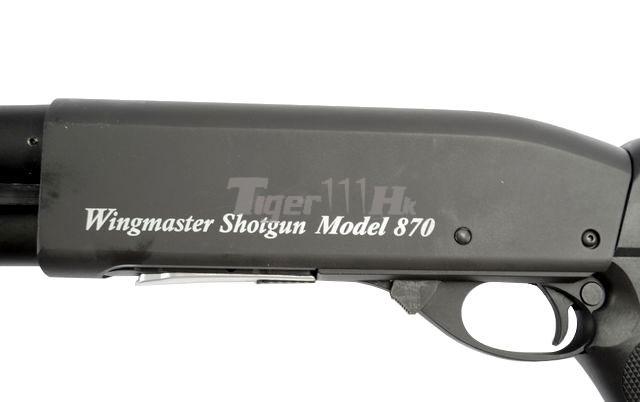 G&P Metal Battle Rifle;G&P M870 Original Shotgun;Element Red/Green Reticle Scope GP-SHG001M-8