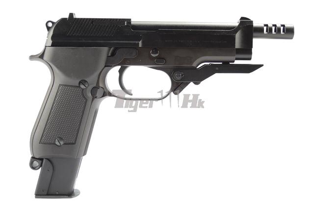 VFC APO ASW338LM Bolt Action Gun;KSC H&K USP .45 GBB;KSC M93RII GBB KSC-GBB-M93RII-ABS-3