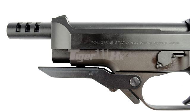 VFC APO ASW338LM Bolt Action Gun;KSC H&K USP .45 GBB;KSC M93RII GBB KSC-GBB-M93RII-ABS-8
