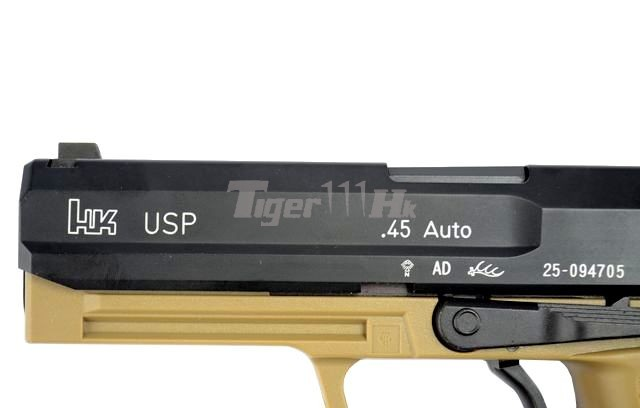 VFC APO ASW338LM Bolt Action Gun;KSC H&K USP .45 GBB;KSC M93RII GBB KSC-GBB-USP.45-TAN-6