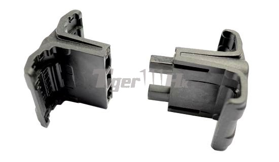 WE Tactical Rail Pistol for MK25(1) & F226 E2(1);MAGPUL Maglink Magazine Coupler MAGPUL-PTS-MAG595-BLK-6