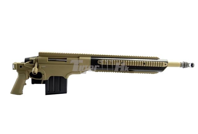 VFC APO ASW338LM Bolt Action Gun;KSC H&K USP .45 GBB;KSC M93RII GBB VFC-ASW338-TN01-5